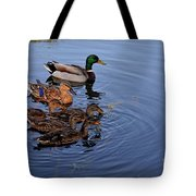 Family Outting Tote Bag