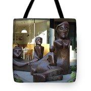 Family Sculpture Tote Bag