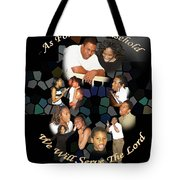 Family Serving Tote Bag