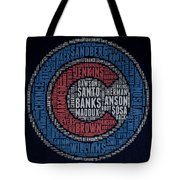 Famous Chicago Cubs Tote Bag