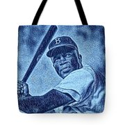 Famous Jackie Robinson Tote Bag