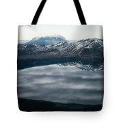 Famous Mountain Askja In Iceland Tote Bag