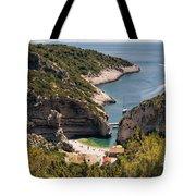 Famous Stiniva Beach Tote Bag