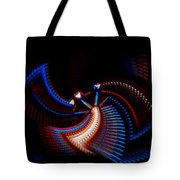 Fan Dance Tote Bag