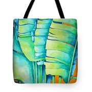 Fan Palm With Orange 2 Tote Bag
