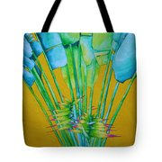 Fan Palm With Yellow Tote Bag