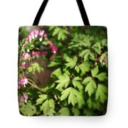 Fanciful Bleeding Hearts Tote Bag
