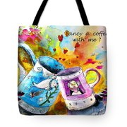 Fancy A Coffee Tote Bag