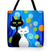 Fancy Cats Tote Bag