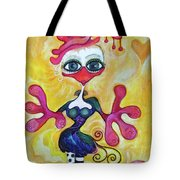 Fancy Chick Tote Bag
