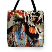 Pow Wow Fancy Dancer 1 Tote Bag