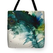 Fancy Feather Tote Bag