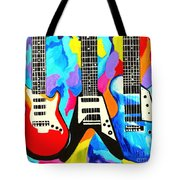 Fancy Guitars Tote Bag