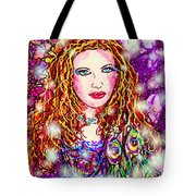 Fancy Lady Tote Bag