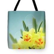 Fancy Spring Narcissus Garden  Tote Bag