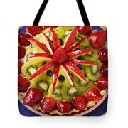 Fancy Tart Pie Tote Bag by Garry Gay