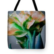 Fancy Tulip Tote Bag