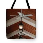 Fans And Lights Tote Bag