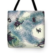 Fantails Tote Bag
