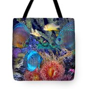 Fantasy Acquarium II Tote Bag by Michele A Loftus
