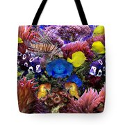 Fantasy Aquarium Tote Bag by Michele A Loftus