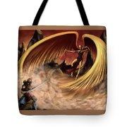 Fantasy Battle Tote Bag