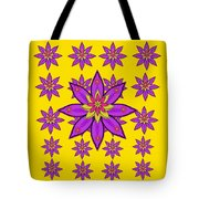 Fantasy Big Flowers In The Happy Jungle Of Love Tote Bag