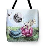 Fantasy Bubbles Tote Bag