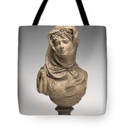 Fantasy Bust Of A Veiled Woman (marguerite Bellanger?) Tote Bag