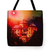 Fantasy Castle For Mandy Maxwell H B Tote Bag