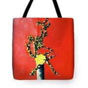 Fantasy Flowers Still Life #162 Tote Bag