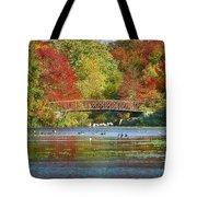 Fantasy Foliage Tote Bag