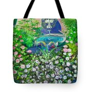 Fantasy Fountain Tote Bag