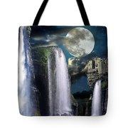 Fantasy Gorge Color Tote Bag