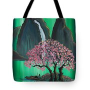 Fantasy Japan Tote Bag