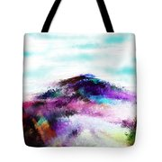 Fantasy Mountain Tote Bag