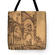 Fantasy On A Magnificent Triumphal Artch Tote Bag