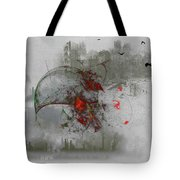 fantasy on theme War the Worlds by Herbert Wells Tote Bag