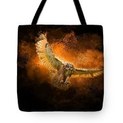 Fantasy Owl Tote Bag