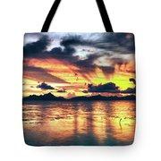 Fantasy Sunset Tote Bag
