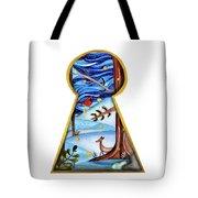 Fantasy Through The Keylock Tote Bag