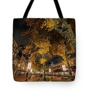 Fanueil Hall Boston Ma Autumn Foliage Tote Bag