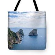 Faraglioni Rocks Tote Bag