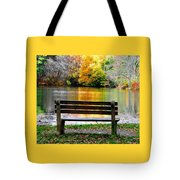 Farewell Autumn Tote Bag