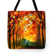 Farewell To Autumn Tote Bag