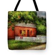 Farm - Barn - A Small Farm House  Tote Bag
