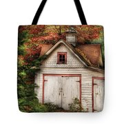 Farm - Barn - Our Old Shed Tote Bag by Mike Savad
