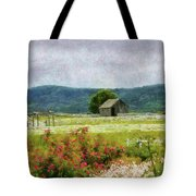 Farm - Barn - Out In The Country  Tote Bag