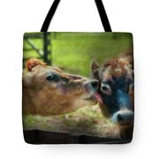 Farm - Cow - Let Mommy Clean That Tote Bag