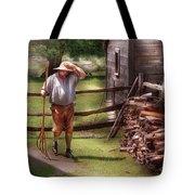 Farm - Farmer - Chores Tote Bag